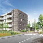 projet habitat inclusif riedisheim facade exterieure rue