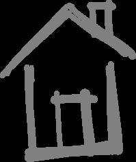logo habitat gris