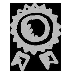 picto lauréat badge