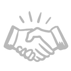 picto partenariat mains serrées